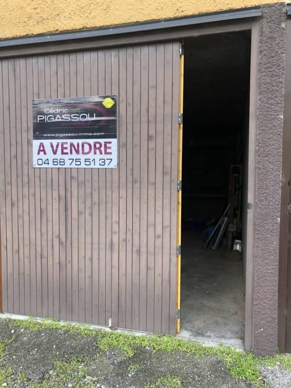 Pigassou Immobilier Galerie - GARAGE GRUISSAN CENTRE PORT