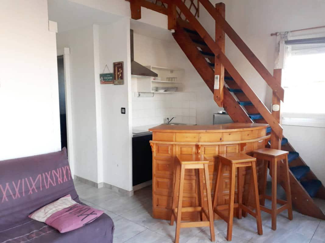 Pigassou Immobilier - STUDIO MEZZANINE LOCATION ANNUELLE
