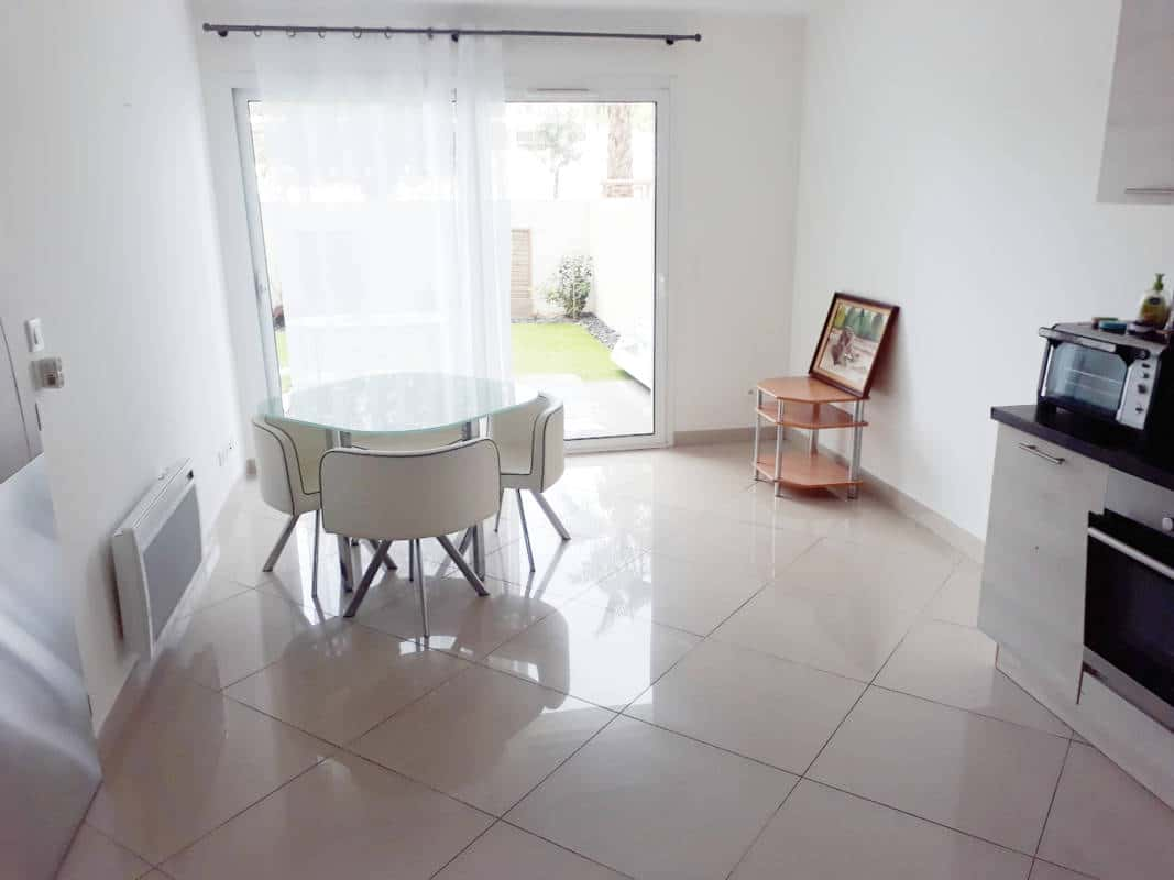 Pigassou Immobilier Galerie - T2 rez de chaussé dans résidence récente avec jardin