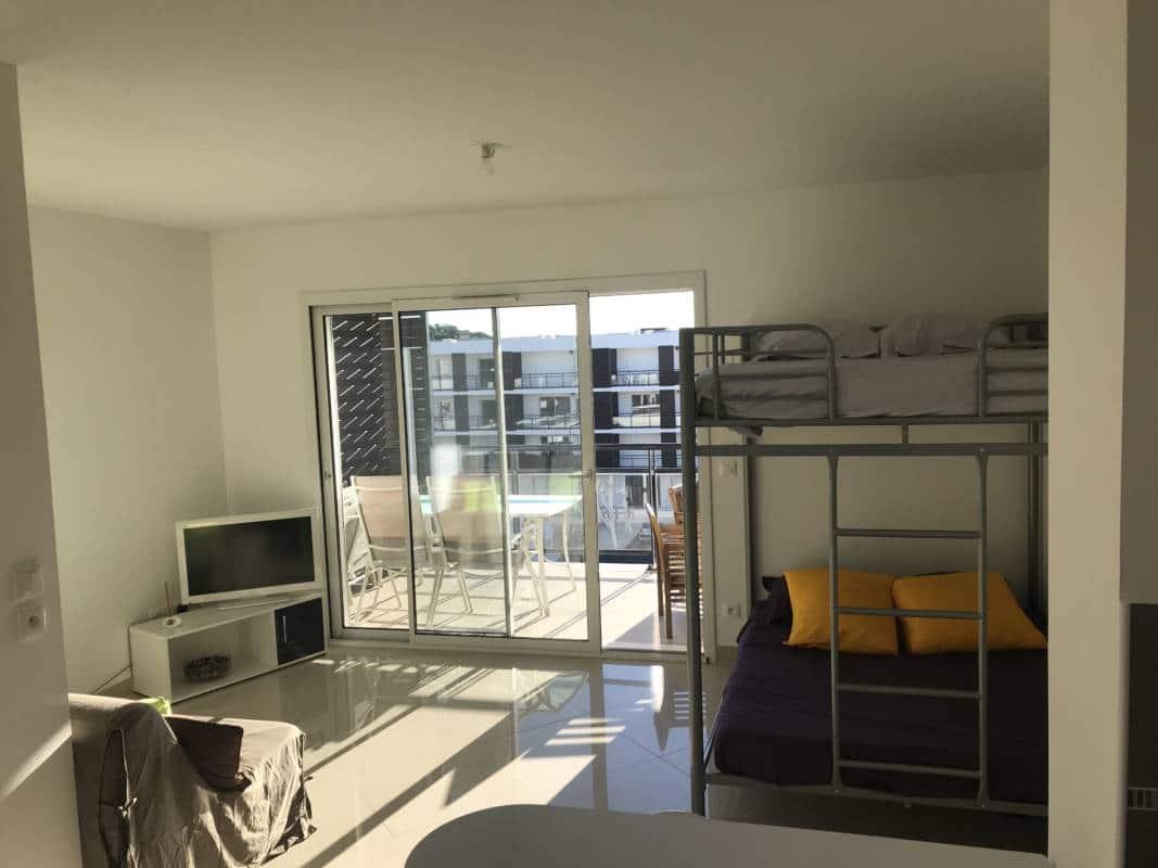 Pigassou Immobilier - Studio dans résidence récente et sécurisée
